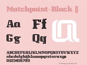 Matchpoint-Black