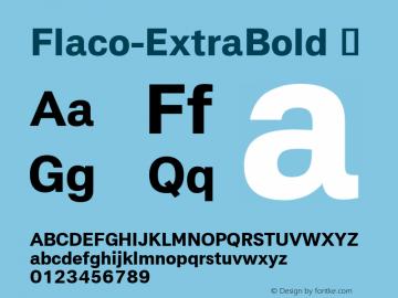 Flaco-ExtraBold