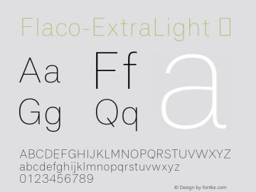 Flaco-ExtraLight