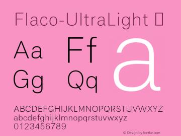 Flaco-UltraLight