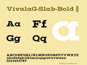 VivalaG-Slab-Bold