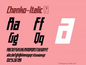 Chenko-Italic