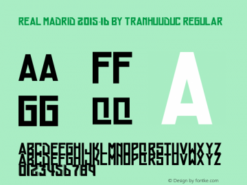 Real Madrid 2015-16 by TranHuuduc