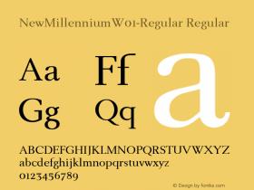 NewMillennium-Regular