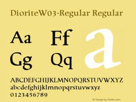 Diorite-Regular
