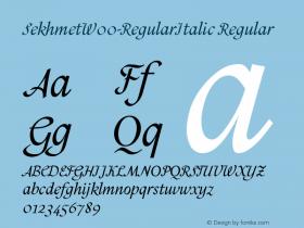 Sekhmet-RegularItalic