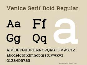Venice Serif Bold
