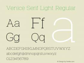 Venice Serif Light