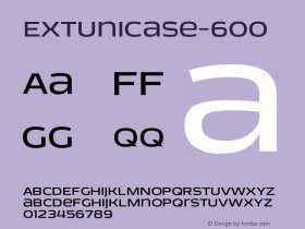 EXTUnicase-600