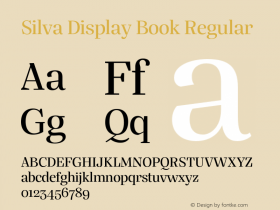 Silva Display Book