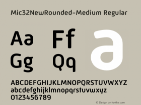 Mic32NewRounded-Medium