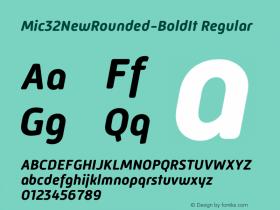 Mic32NewRounded-BoldIt