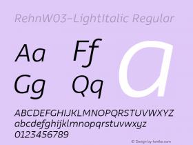 Rehn-LightItalic