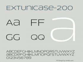 EXTUnicase-200