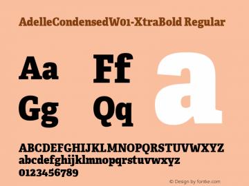 AdelleCondensed-XtraBold