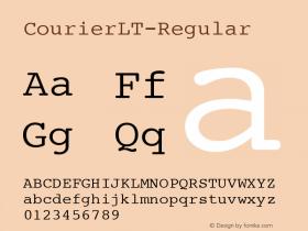 CourierLT-Regular