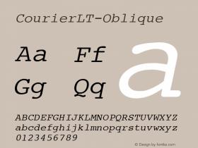 CourierLT-Oblique