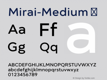 Mirai-Medium