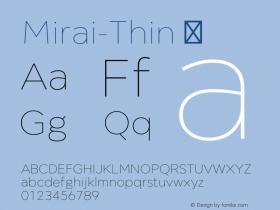 Mirai-Thin