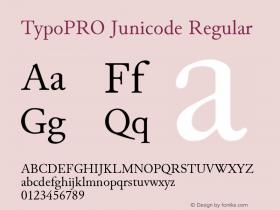 TypoPRO Junicode