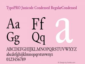 TypoPRO Junicode Condensed