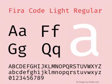 Fira Code Light