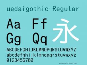 uedaigothic