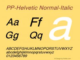 PP-Helvetic