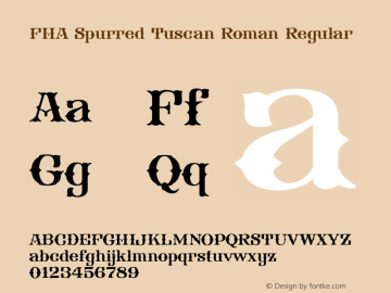 FHA Spurred Tuscan Roman