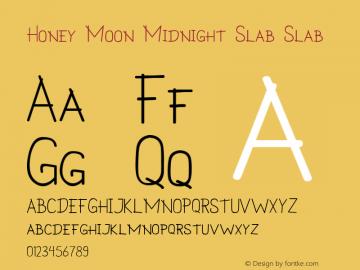Honey Moon Midnight Slab