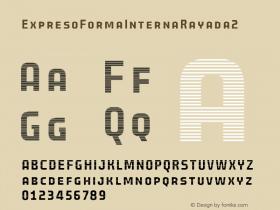 ExpresoFormaInternaRayada2