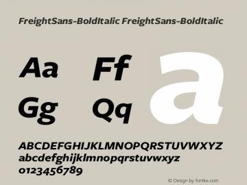 FreightSans-BoldItalic