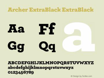Archer ExtraBlack