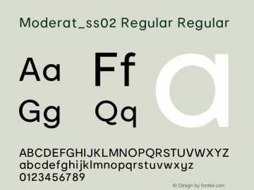Moderat_ss02 Regular