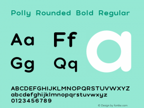 Polly Rounded Bold