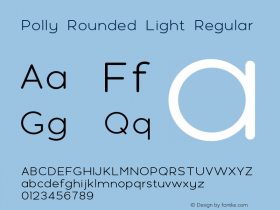 Polly Rounded Light