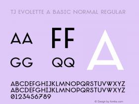 TJ Evolette A Basic Normal