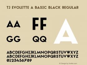TJ Evolette A Basic Black