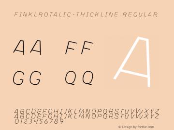 FinklRotalic-Thickline