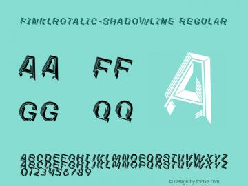FinklRotalic-ShadowLine