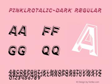 FinklRotalic-Dark