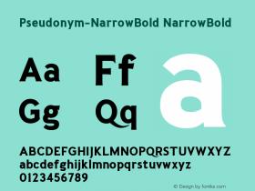 Pseudonym-NarrowBold