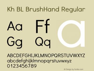 Kh BL BrushHand