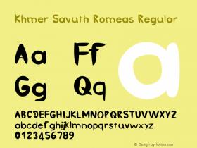 Khmer Savuth Romeas