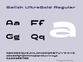 Salish UltraBold