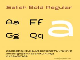 Salish Bold