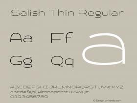 Salish Thin