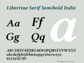 Libertine Serif