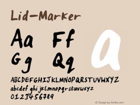 Lid-Marker