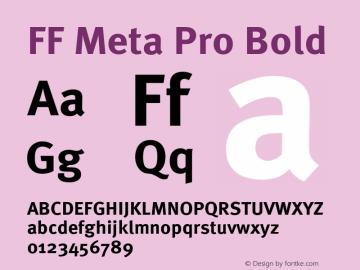 FF Meta Pro